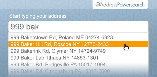 Loqate Address Powersearch - Loqate » Everything Location